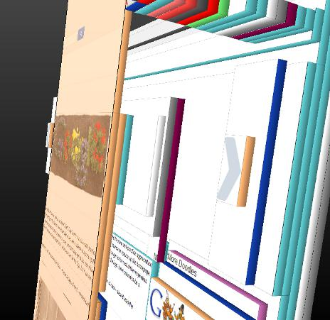 Firefox's 3D DOM Viewer