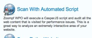 CasperJS Automated Script