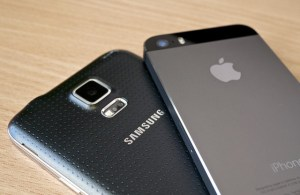 Samsung Galaxy S5 vs iPhone 5S