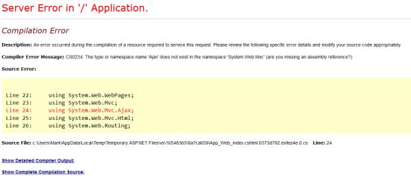 asp jscript on error resume next